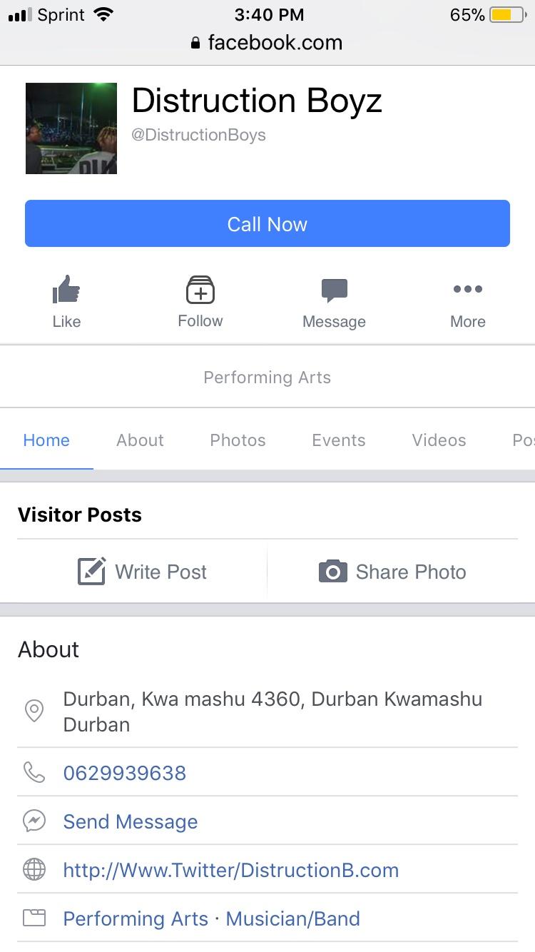 Find DB on FB!