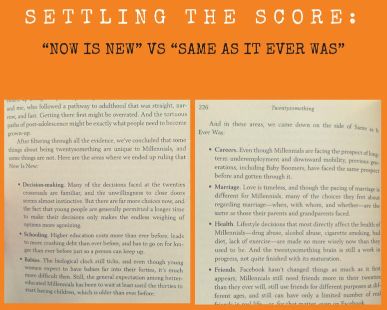 Settling the score_